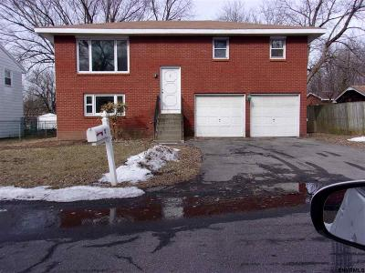 Albany NY Single Family Home For Sale: $163,900