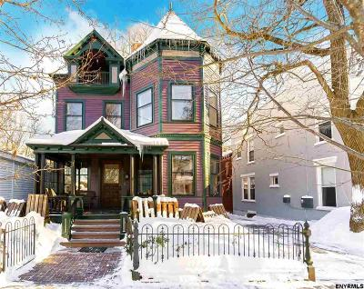 Saratoga Springs Single Family Home For Sale: 52 Franklin St