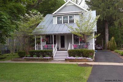 Saratoga Springs NY Single Family Home For Sale: $854,900