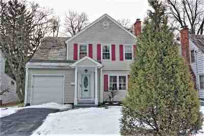Schenectady Single Family Home New: 1178 Van Curler Av