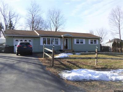 Rensselaer County Single Family Home For Sale: 10 Mann Dr