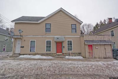 Gloversville, Johnstown Multi Family Home For Sale: 222 North Perry St