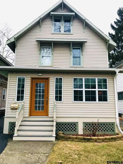 Schenectady Single Family Home New: 7 Alvey St