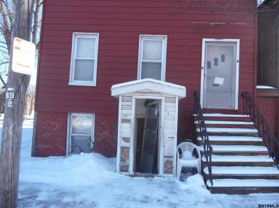 Albany NY Two Family Home For Sale: $39,400