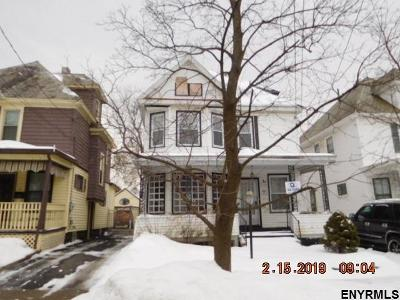 Schenectady Single Family Home New: 62 Snowden Av