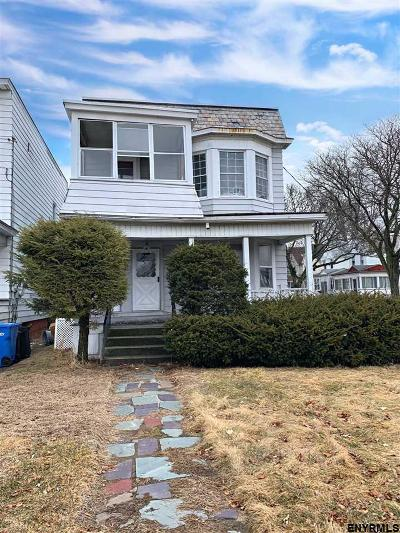 Albany NY Two Family Home For Sale: $119,900