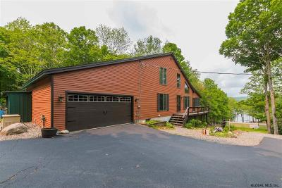 Albany County, Saratoga County, Schenectady County, Warren County, Washington County Single Family Home New: 1296 South Shore Rd