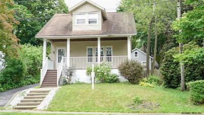 Niskayuna Single Family Home Price Change: 1198 Palmer Av