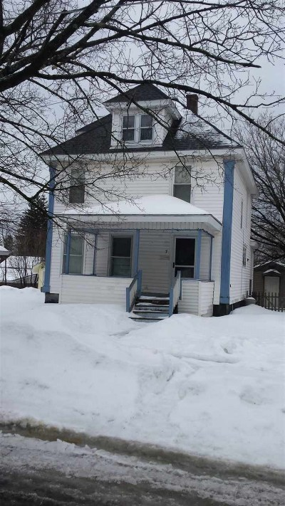 Gloversville Single Family Home For Sale: 7 Burlington Av