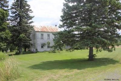 Schoharie County Single Family Home For Sale: 105 Hill Rd