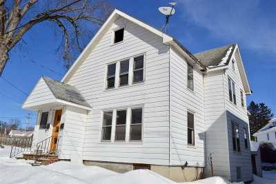 Gloversville NY Two Family Home For Sale: $49,000