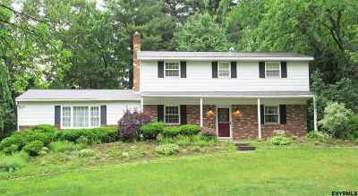 Clifton Park Single Family Home For Sale: 8 Sleepy Hollow Dr