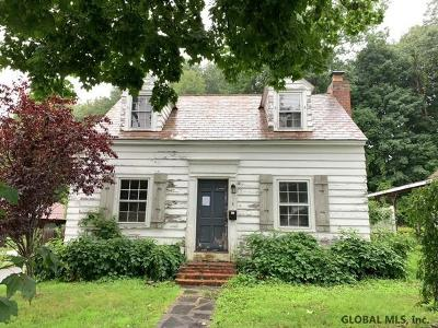 Fort Edward NY Single Family Home For Sale: $74,300