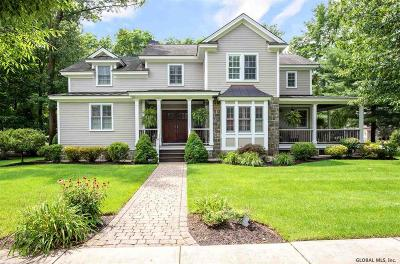 Saratoga Springs NY Single Family Home For Sale: $1,245,000