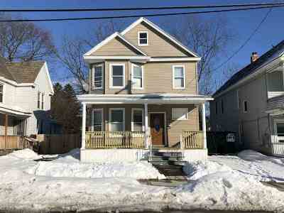 Schenectady Single Family Home For Sale: 1038 Dean St
