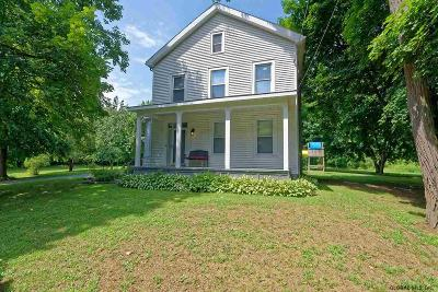 Mechanicville, Stillwater Single Family Home For Sale: 52 County Rt 75