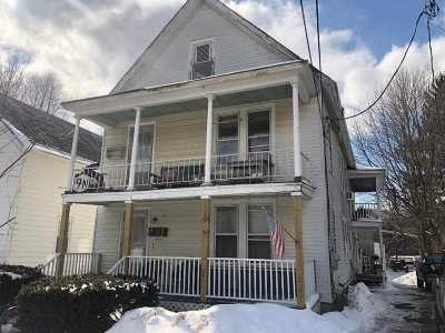 Ballston Spa, Round Lake Multi Family Home For Sale: 55 Mechanic St