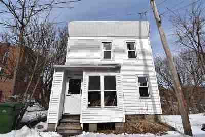 Cohoes Single Family Home For Sale: 9 Fulton St