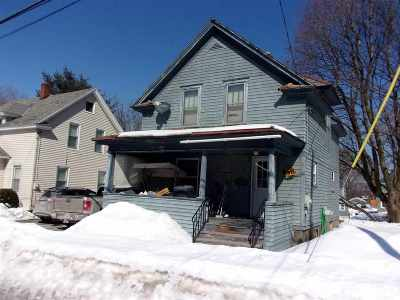 Gloversville Single Family Home For Sale: 63 Steele Av