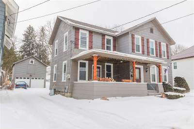 Canajoharie Single Family Home For Sale: 161 Cliff St