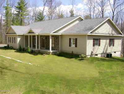 Queensbury, Fort Ann Single Family Home For Sale: 52 Blind Rock Rd