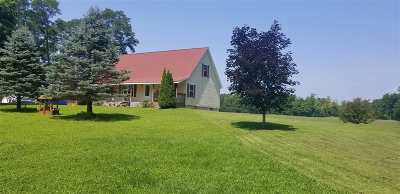 Fulton County, Hamilton County, Montgomery County, Saratoga County, Warren County Single Family Home New: 615 Plummer Rd