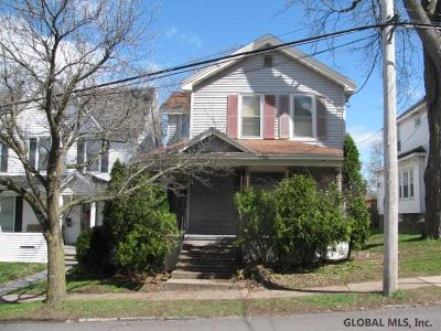 Gloversville Single Family Home For Sale: 19 Prospect Av