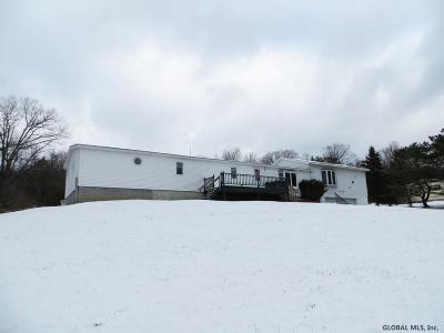 Duanesburg Single Family Home New: 1240 Thousand Acres Rd