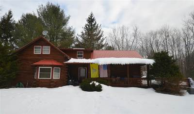 Broadalbin Single Family Home New: 580 County Highway 110