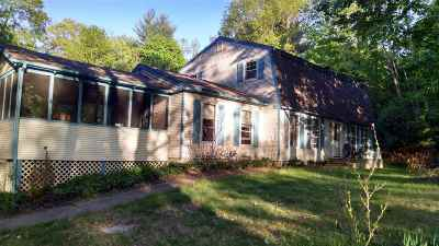 Greenfield, Corinth, Corinth Tov Single Family Home For Sale: 55 Bump Hill Rd