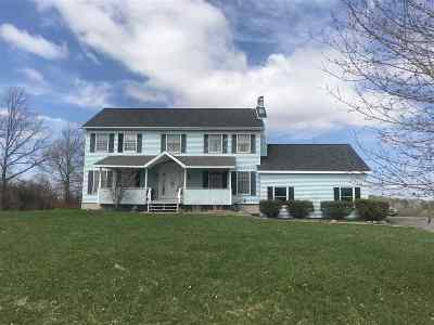Schenectady County Single Family Home For Sale: 14386 Duanesburg Rd