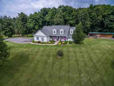 Saratoga County Single Family Home For Sale: 2524 State Highway 67