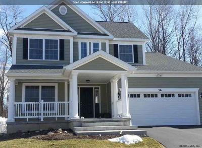 Saratoga County Single Family Home New: 32 Stonebridge Dr