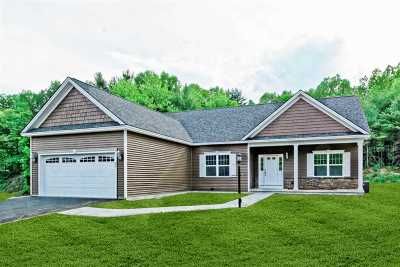 Saratoga County, Warren County Single Family Home For Sale: Lot 4 Patriot Hill Dr