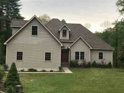 Wilton Single Family Home For Sale: 37 Corinth Mountain Rd