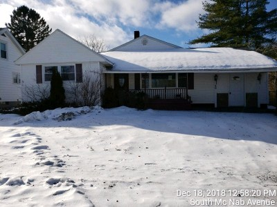 Gloversville Single Family Home New: 20 S South McNab Av