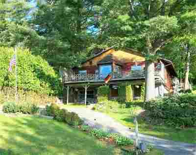 Fulton County, Hamilton County, Montgomery County, Saratoga County, Warren County Single Family Home New: 2462 South Shore Rd