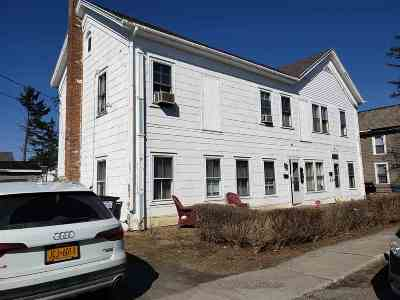 Rensselaer County Multi Family Home New: 17-19 Hoosick St