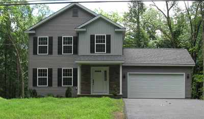 Saratoga County Single Family Home New: 154a Butler Rd