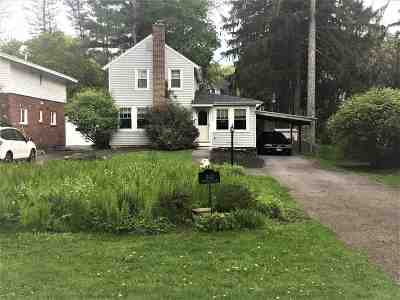 Schenectady County Single Family Home New: 1142 Millington Rd