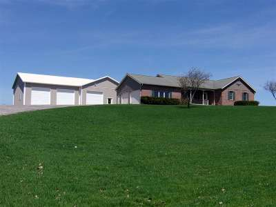 Canajoharie Single Family Home Active-Under Contract: 1330 Clinton Rd