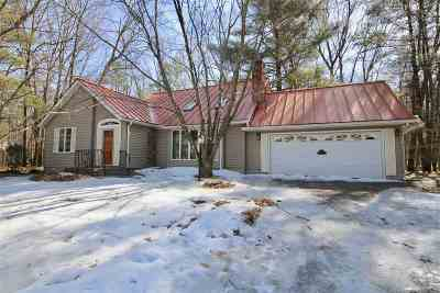 Saratoga County Single Family Home Back On Market: 132 Ruggles Rd