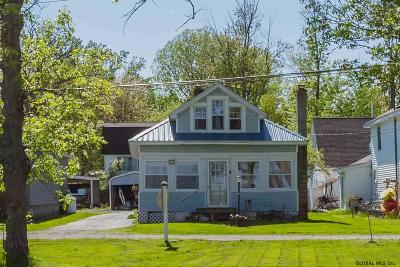 Albany County, Saratoga County, Schenectady County, Warren County, Washington County Single Family Home For Sale: 90 Lakeshore Dr