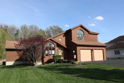 Colonie Single Family Home For Sale: 24 Woodland Dr