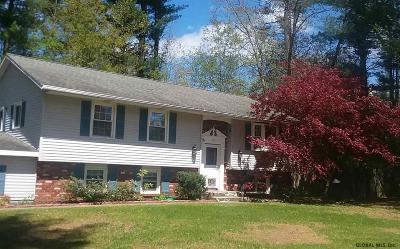 Clifton Park Single Family Home For Sale: 36 Evergreen Av