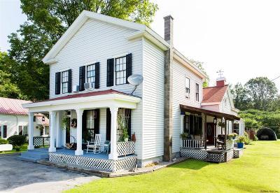 South Glens Falls Single Family Home For Sale: 132 Feeder Dam Rd