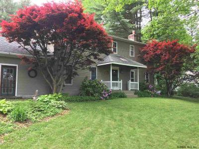 Greenfield, Corinth, Corinth Tov Single Family Home Price Change: 112 North Milton Rd