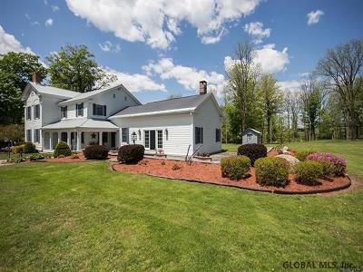 Duanesburg Single Family Home For Sale: 1570 Eaton Corners Rd