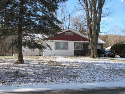 Voorheesville NY Single Family Home Active-Under Contract: $149,900