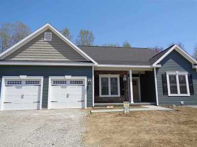 Single Family Home For Sale: Lot 9 Julia Rose Ct